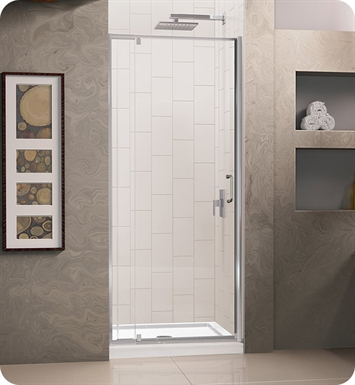 DreamLine Flex-DL-621 Flex Shower Door and Base Kit