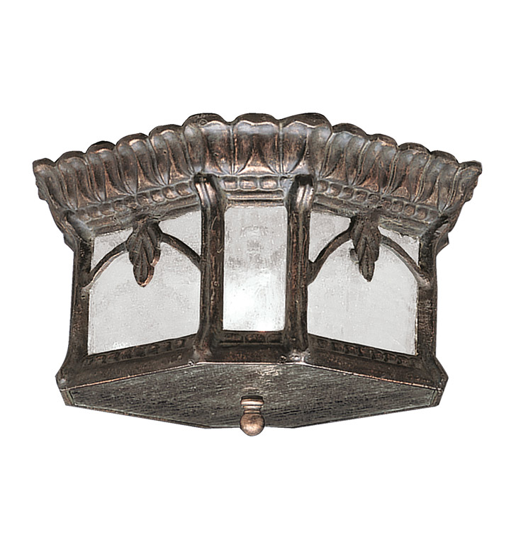Kichler 9854LD Outdoor Flush Mount 2 Light in Londonderry