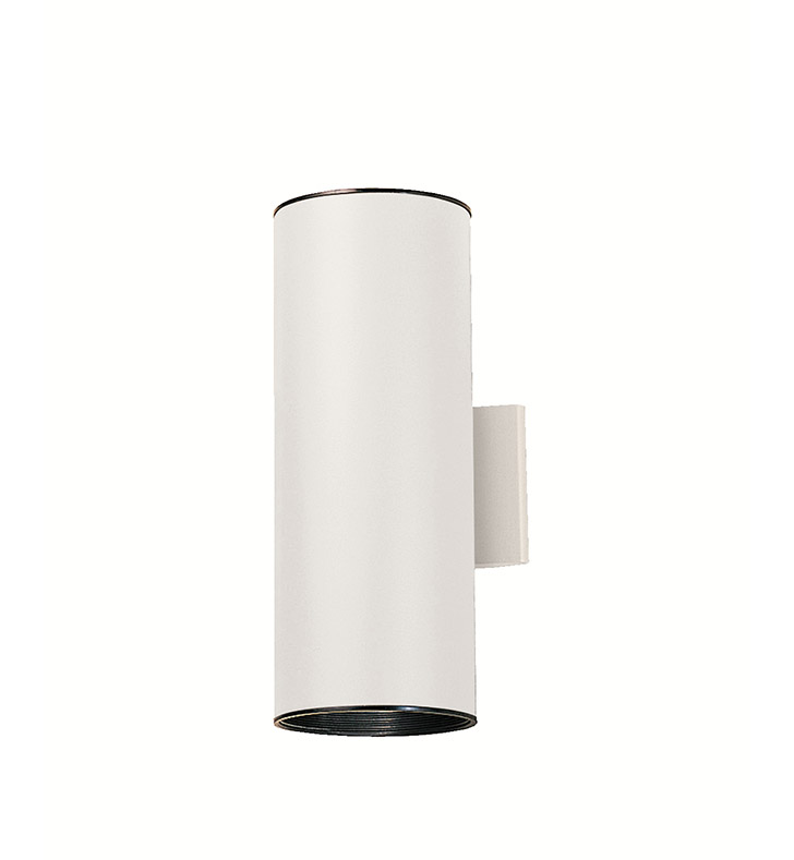 Kichler 9246WH Two Light Outdoor Wall Sconce in White