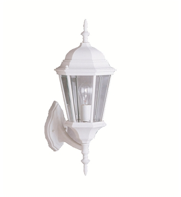 Kichler 9654WH One Light Outdoor Wall Sconces in White