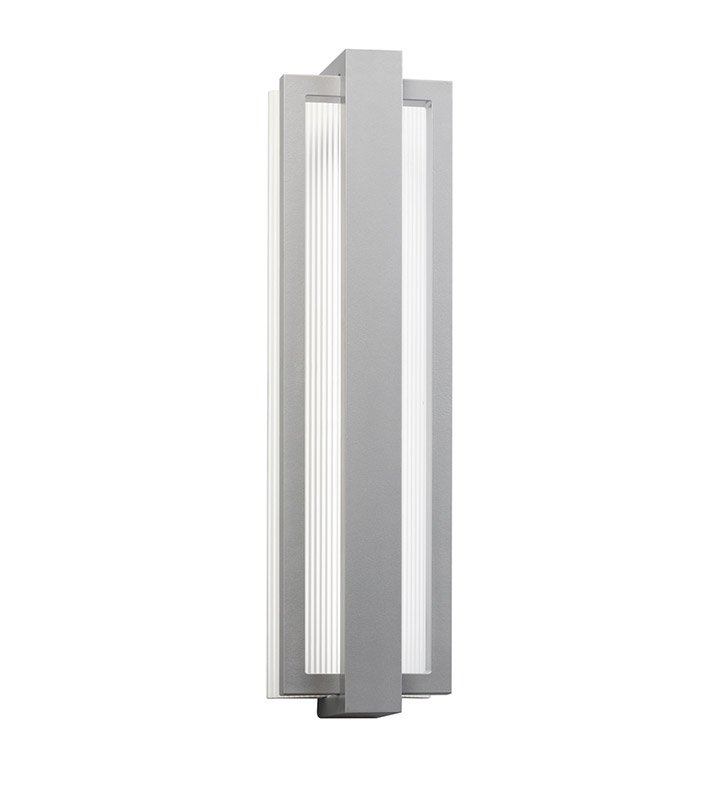 Kichler 49435PL Sedo Collection 1 Light Outdoor Wall Sconce in Platinum
