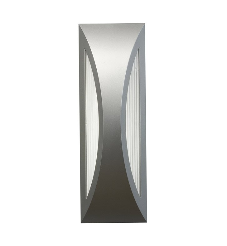 Kichler 49436PL One Light Outdoor Wall Sconce in Platinum