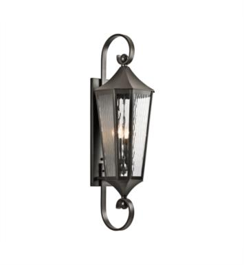 "Kichler 49514OZ Rochdale 4 Light 11"" Incandescent Outdoor Wall Sconce in Olde Bronze"