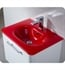 Fresca Integrated Sink/Countertop in Red x2