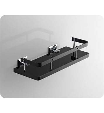 Nameeks G211-14 Toscanaluce Bathroom Shelf With Finish: Black
