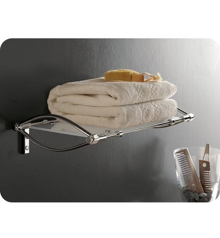 Nameeks 5560-14 Toscanaluce Bathroom Shelf With Finish: Black