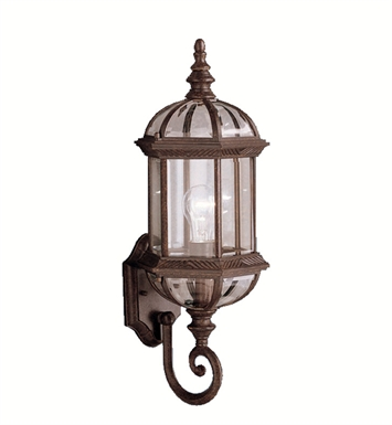 Kichler 9736TZ Barrie Collection 1 Light Outdoor Wall Sconce in Tannery Bronze