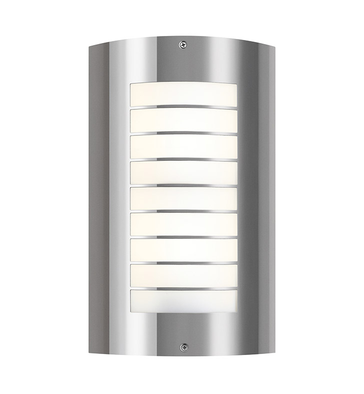 Kichler 6048PSS316 Two Light Outdoor Wall Sconce in Stainless Steel