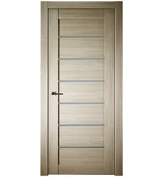 Belldinni ALBA-SH Alba Interior Door in Shambor Finish with Frosted Glass