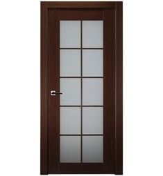 Belldinni MIA10L-W Mia 10 Lite Interior Door in Wenge Finish with Frosted Glass