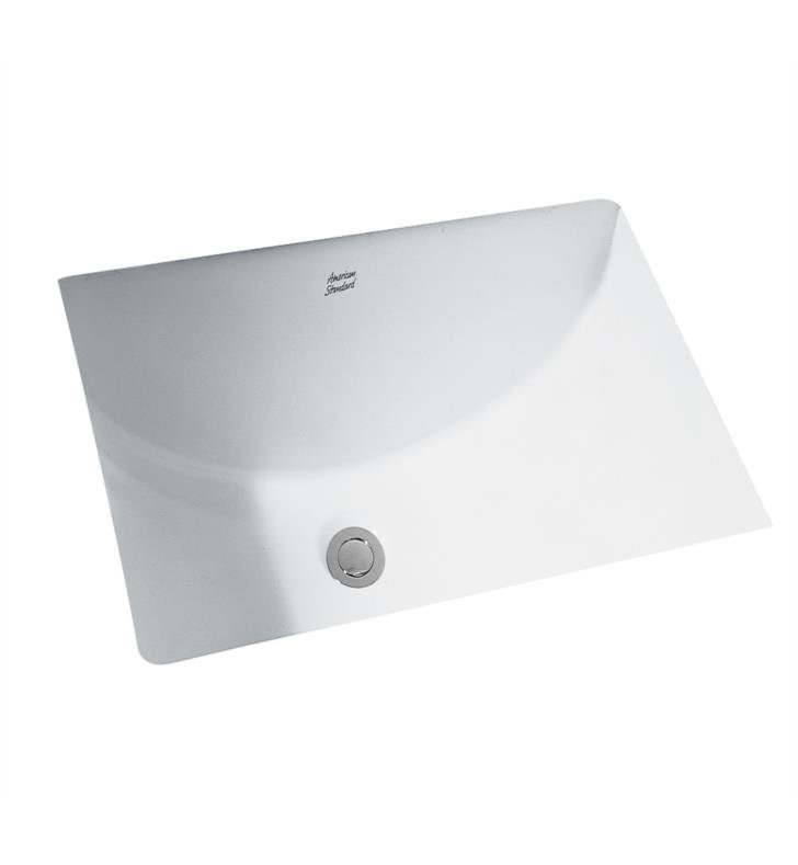 American Standard 0614000.222 Studio Undercounter Sink With Finish: Linen