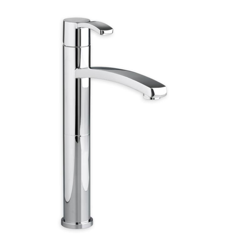 American Standard 7430152.295 Berwick Monoblock Bathroom Vessel Faucet With Finish: Brushed Nickel