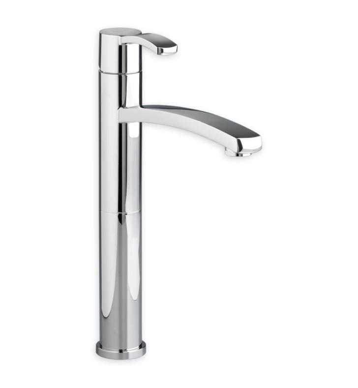 American Standard 7430152.002 Berwick Monoblock Bathroom Vessel Faucet With Finish: Polished Chrome