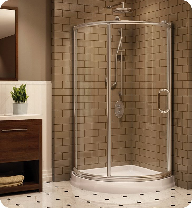 Fleurco FRM36 Forte Roma Arc Corner Shower Enclosure