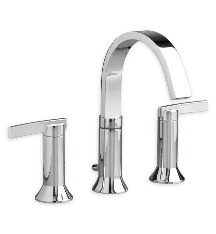 American Standard 7430801.295 Berwick Widespread Bathroom Faucet with Lever Handles With Finish: Brushed Nickel