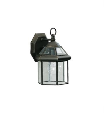 "Kichler 9783OZ Embassy Row 1 Light 7"" Incandescent Outdoor Wall Sconce in Olde Bronze"