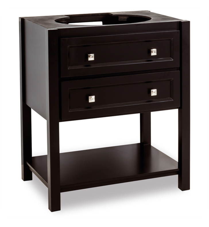 Hardware Resources VAN036-NT Traditional Bathroom Vanity by Bath Elements