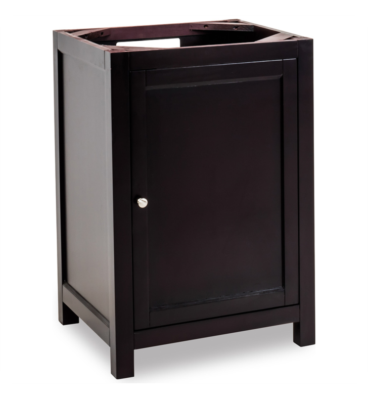 Hardware Resources VAN092-24 Traditional Bathroom Vanity by Jeffrey Alexander