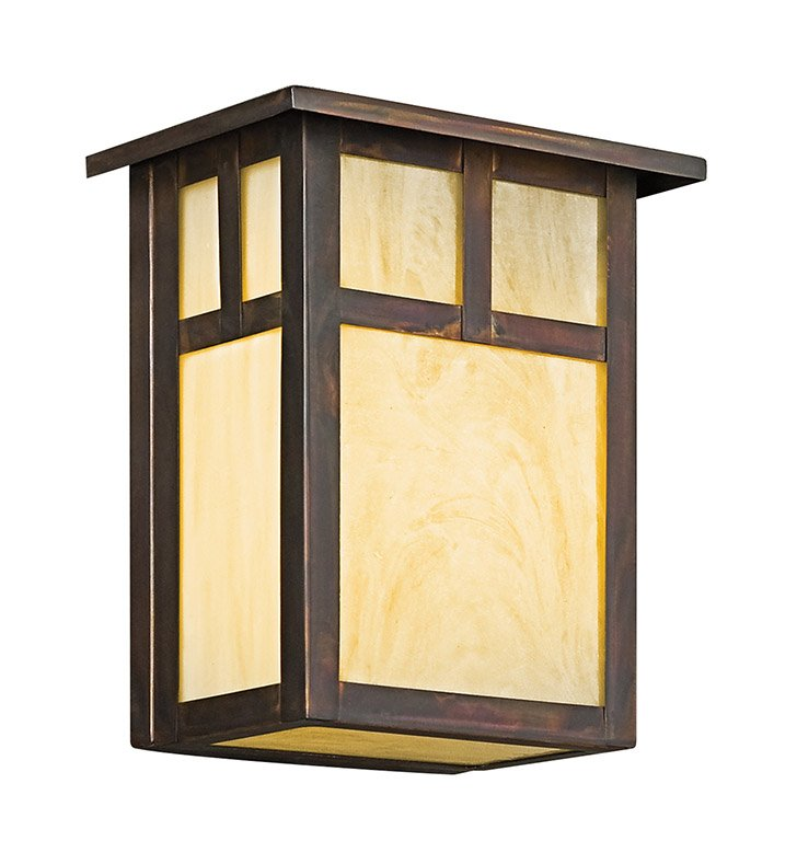 Kichler 9143CV Alameda Collection 1 Light Outdoor Wall Sconce in Bronze