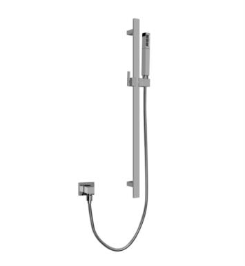 "Graff G-8670-SN 27 3/4"" Contemporary Wall Mount Slide Bar with Handshower With Finish: Steelnox (Satin Nickel)"