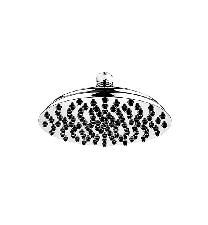 Whitehaus WHSM01-12 Showerhaus Rainfall Showerhead, 108 Nozzles, with Adjustable Ball Joint
