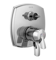 "Delta T27876-LHP Stryke 7"" 17 Series Integrated Diverter Trim with Three Function Diverter Less Diverter Handle"