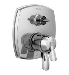 "Delta T27976-LHP Stryke 7"" 17 Series Integrated Diverter Trim with Six Function Diverter Less Diverter Handle"