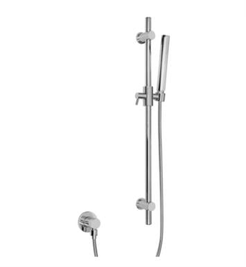 "Graff G-8660-BK 27 5/8"" Contemporary Wall Mount Slide Bar with Handshower With Finish: Architectural Black"