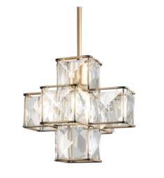 "Varaluz 329P01CG Cubic 1 Light 12"" Incandescent Ceiling Mount Linear Pendant in Calypso Gold"