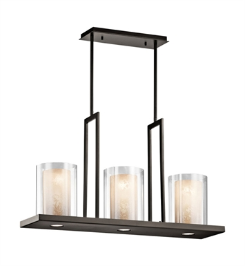 Kichler 42547 Triad Collection Chandelier Linear 3 Light