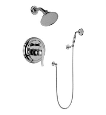 Graff G-7167-LM20S-OB Bali Full Pressure Balancing System Shower with Handshower With Finish: Olive Bronze And Rough / Valve: Trim + Rough