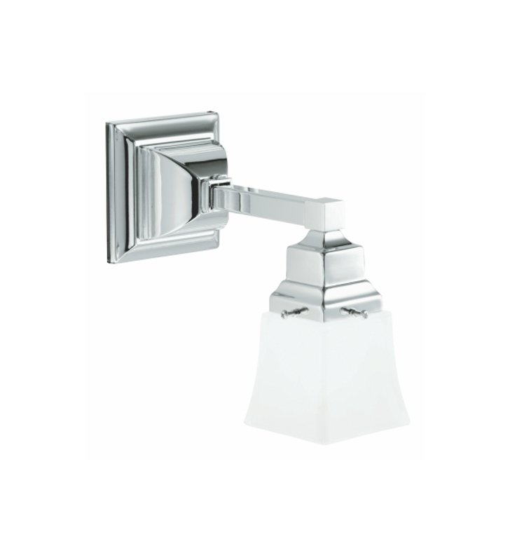 Robern MLLWSCH M Series MLLWS Wall Sconce Light in Chrome