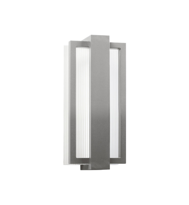 Kichler 49492PL Sedo Collection 1 Light Outdoor Wall Sconce in Platinum