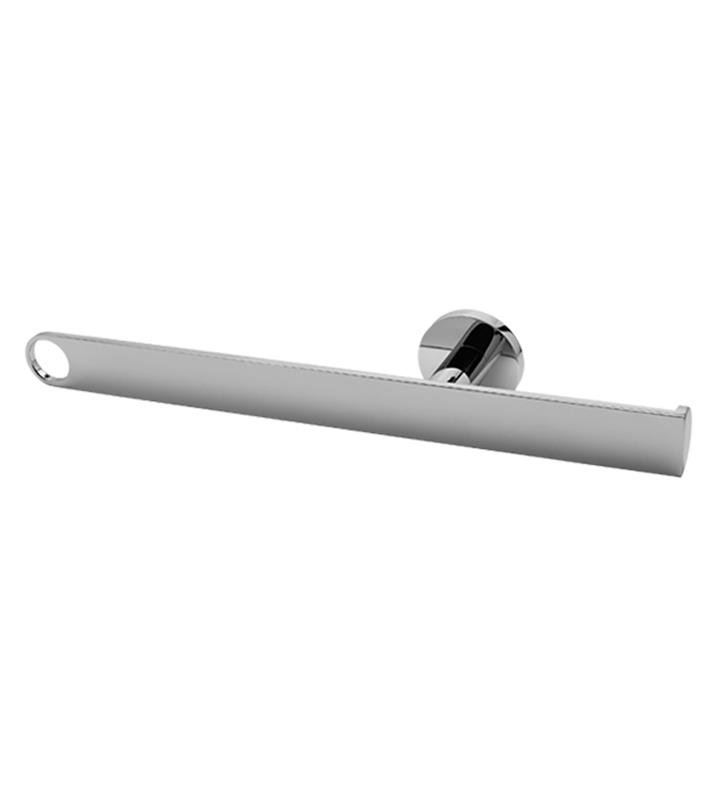 "Graff G-9207-WT Sento 15 3/4"" Wall Mount Tissue Holder and Towel Bar With Finish: Architectural White"