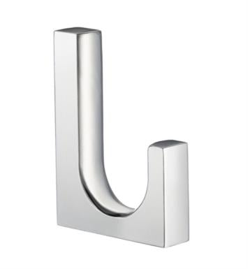 "Smedbo GK131 Life 7/8"" Wall Mount Single Towel Hook in Polished Chrome"