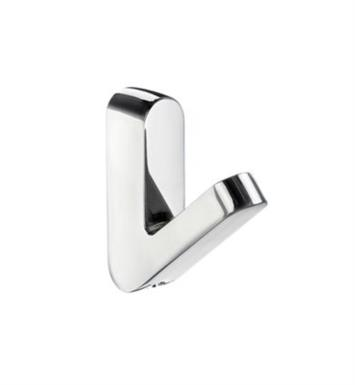 "Smedbo GK150 Life 5/8"" Wall Mount Single Towel Hook in Polished Chrome"