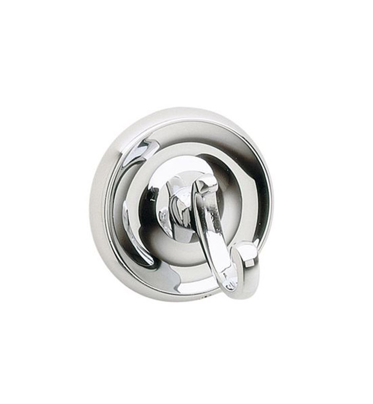 Smedbo K255 Villa Hook Single in Polished Chrome