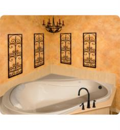 "Hydro Systems ECL6464A Designer Eclipse 64"" Acrylic Drop-In/Corner Hourglass Bathtub"