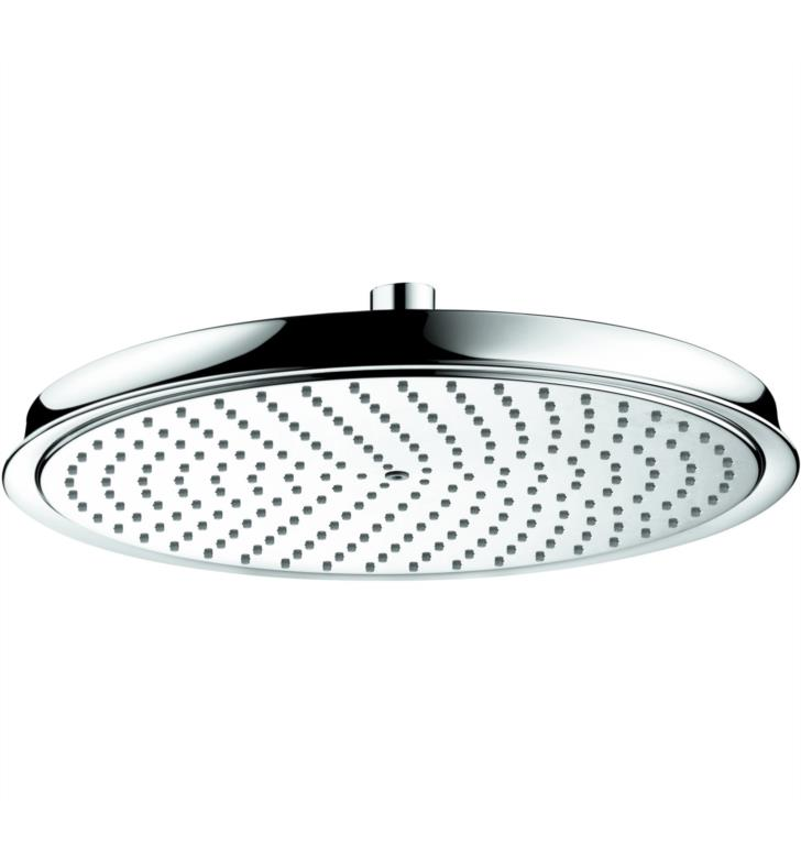 "Hansgrohe 28428831 Raindance C 300 13"" Wall Mount Round 1-Jet Showerhead With Finish: Polished Nickel"