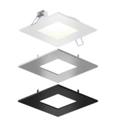 "DALS Lighting SPN4SQ-CC-3T 1 Light 4 1/2"" Sqaure LED Panel Reccessed Light"