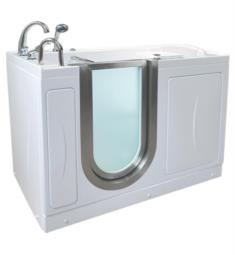 "Ella 310 Elite 52 1/4"" Acrylic Inward Swing One-Person Walk-In Bathtub in White"