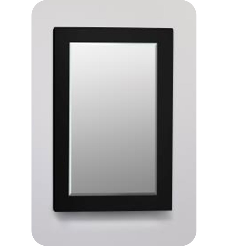 "Robern DM2030MG20 Decorative 20"" x 30"" Framed Mirror in Black Glass"