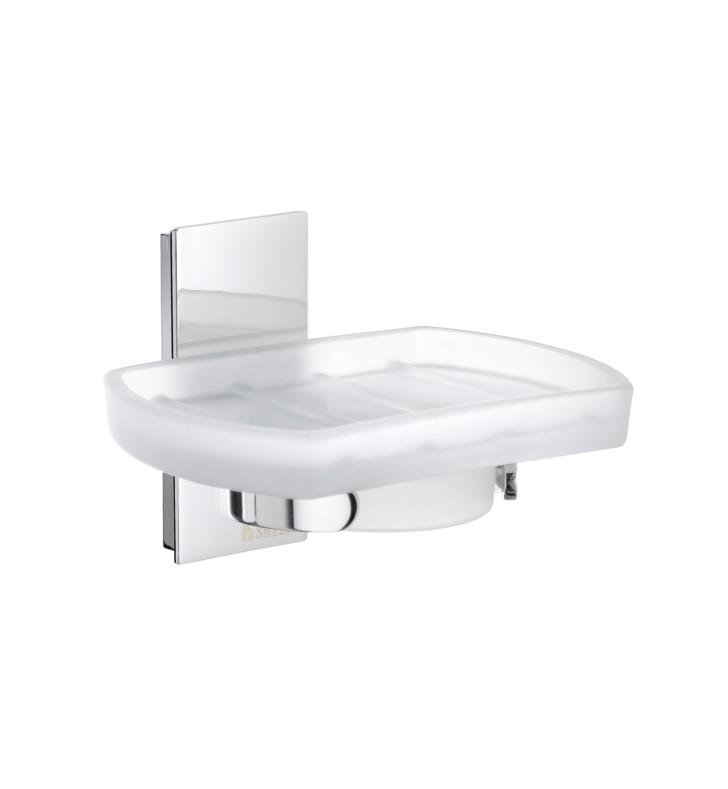"Smedbo ZK342 Pool 4 3/4"" Wall Mount Soap Dish in Polished Chrome"
