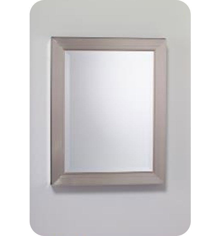 "Robern MTM24MDBN Metallique 23"" x 29 3/4"" Framed Wall Mirror in Brushed Nickel"