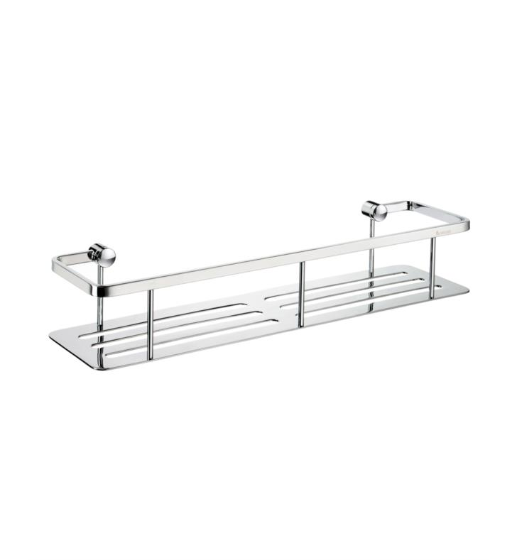 "Smedbo DK3005 Sideline 16"" Wall Mount Soap Basket in Polished Chrome"