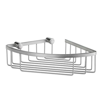 Smedbo DS2021 Sideline Corner 1 Level in Brushed Chrome