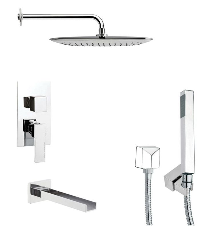 Nameeks TSH4055 Remer Tub and Shower Faucet