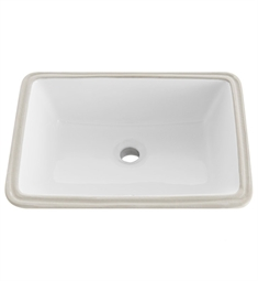 Fresca FVS6119WH-UNS Bellezza White Undermount Sink
