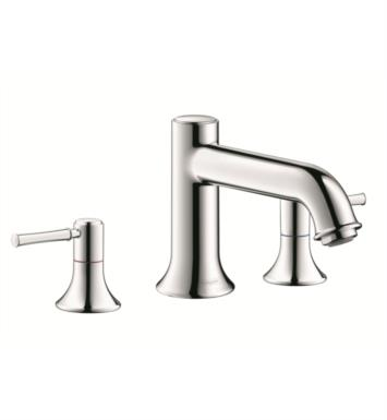 "Hansgrohe 14313 Talis C 7 3/4"" Three Hole Widespread/Deck Mounted Roman Tub Set Trim with Lever Handle"