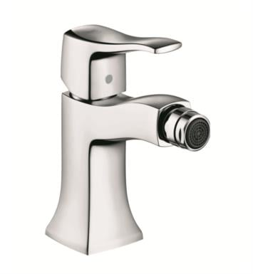 "Hansgrohe 31275001 Metris C 5 3/8"" Single-Hole Deck Mounted Bidet Faucet With Finish: Chrome"